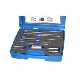 Glow plug filament removal kit, m8x1, m9x1, m10x1, m10x1,25