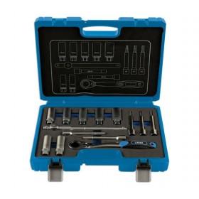 Zestaw kluczy do mocowania amortyzatora, 14 cz