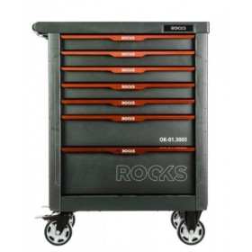 Tool cabinet GARAGE with tools, 161 pcs