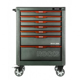 Tool cabinet STEEL GARAGE with tools, 150 pcs
