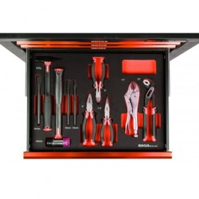 Pliers and hammers set, 11 pcs
