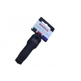 "Impact bit socket 1/2"", 75 mm, SPLINE M 80"