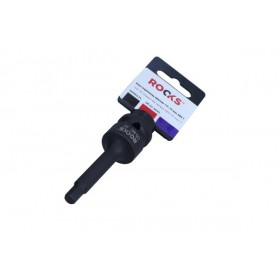 "Impact bit socket 1/2"", 75 mm, HEX 7"