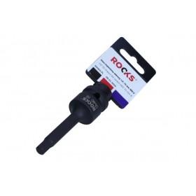 """Klucz trzpieniowy udarowy 1/2"""", 75 mm, hex 8"""