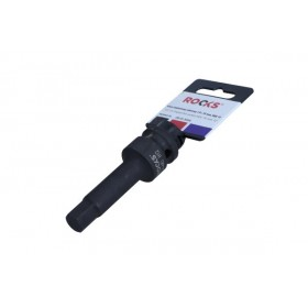 "Impact bit socket 1/2"", 75 mm, HEX 12"