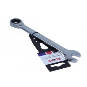Klucz płasko-oczkowy z grzechotką, 16 mm