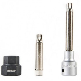 Alternator socket set M10 x H12 + 22x28 mm, 3 pcs
