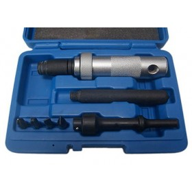 Air hammer impact driver set, 7 pcs, VIBRO SYSTEM