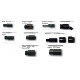 Injector adapters set, 11 pcs