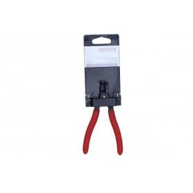 Szczypce segera zewnętrzne,wygięte 140 mm, fi 3-10 mm, pin suj2 0,9 mm