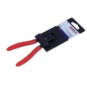 Szczypce segera zewnętrzne,wygięte 140 mm, fi 10-25 mm, pin suj2 1,3 mm