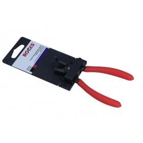 Szczypce segera wewnętrzne,wygięte 140 mm, fi 3-10 mm, pin suj2 0,9 mm