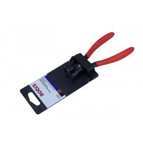 Szczypce segera wewnętrzne,wygięte 140 mm, fi 10-25 mm, pin suj2 1,3 mm
