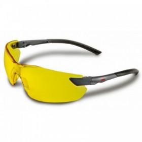 Okulary ochronne uv, kontrastowe, żółte 3m, en166