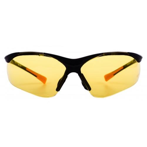Okulary ochronne uv, kontrastowe, żółte