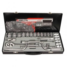 "Tool set 1/2"", with speedy handle, 24 pcs"