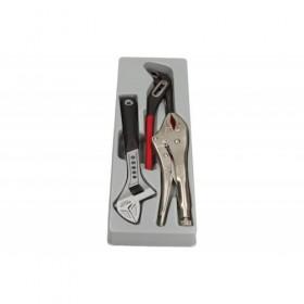 Adjustable pliers set, 3 pcs, module 1/3