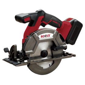 Cordless circular saw, 165 mm, 5000 r / min, 18V AQ-ONE, 4 Ah with charger and one battery