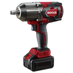 """Cordless impact wrench, 1/2"""", 1200nm, 18v aq-one, 4 ah with charger and one battery"""