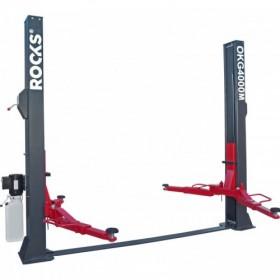 Two-column electro-hydraulic 4 t semi-automatic lift
