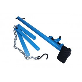 Wishbone lever tool with chain HANDS FREE, 500 kg
