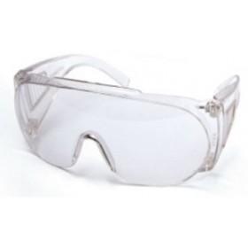 Okulary, gogle ochronne uv, białe
