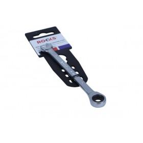 Klucz płasko-oczkowy 8 mm z grzechotką