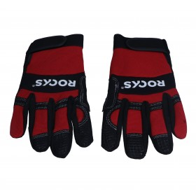 """Protective glove STRONG GARAGE, size L, 9"""""""